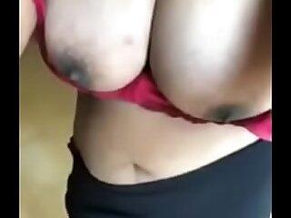 Whacking big Boobs Desi Selfie 77