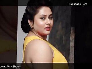 Namitha Brobdingnagian Boobs & Cleavage 36